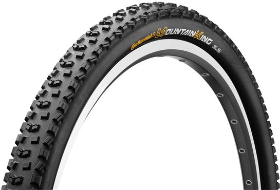 Continental Mountain King II RaceSport 26 inch Black Chili MTB Folding Tyre | Dæk