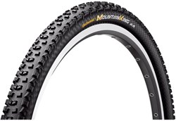 Continental Mountain King II RaceSport 650b Black Chili Folding MTB Tyre