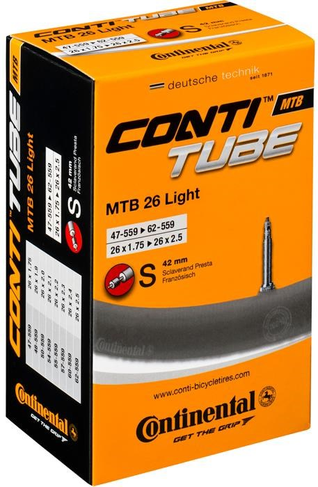 Continental MTB 26 inch Light Inner Tube   Tubes