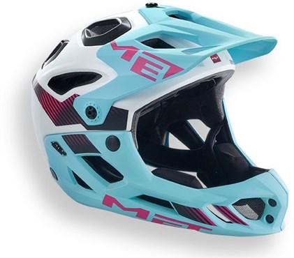 MET Parachute HES Full Face Cycling Helmet 2016