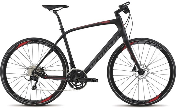 Specialized Sirrus Expert Carbon Disc Flat Bar 2015 - Road Bike