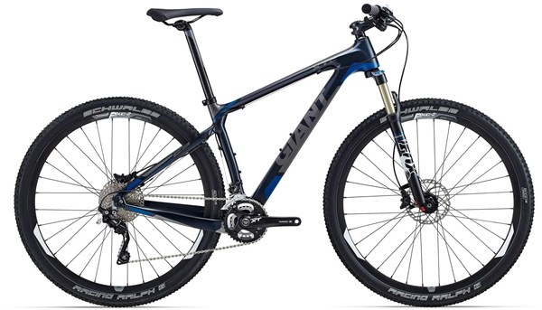Giant XTC Advanced 29er 1 Mountain Bike 2015 - Hardtail MTB