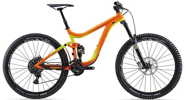 Giant Reign 27.5 1 Mountain Bike 2015 - Full Suspension MTB