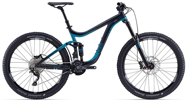 Giant Reign 27.5 2 Mountain Bike 2015 - Full Suspension MTB