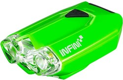 Infini Lava Super Bright Micro USB Rechargeable Front Light With QR Bracket