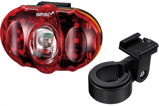Infini Vista 3 LED Rear Light With Batteries and Bracket