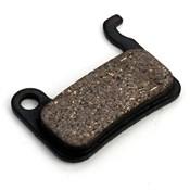 Clarks Disc Brake Pads w/Carbon for Shimano XTR/Saint/XT/SLX/Hone/LX/Deore/HDB