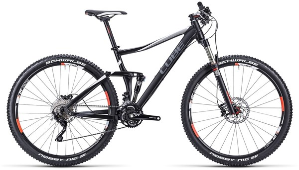 Cube Stereo 120 HPA Pro 29 Mountain Bike 2015 - Full Suspension MTB