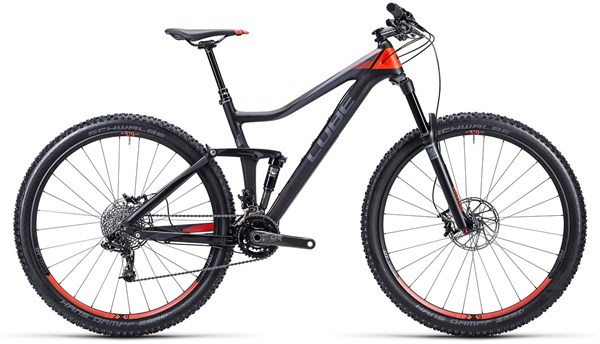 Cube Stereo 140 HPC Race 29 Mountain Bike 2015 - Full Suspension MTB