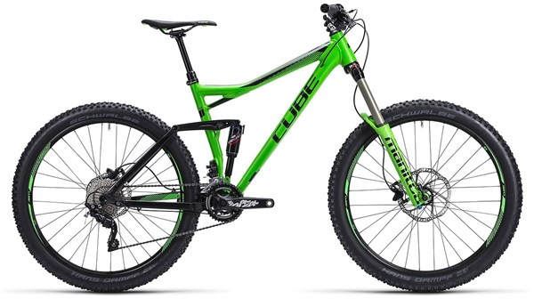 Cube Stereo 160 HPA Pro 27.5 Mountain Bike 2015 - Full Suspension MTB