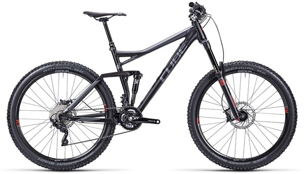 Cube Stereo 160 HPA Race 27.5 Mountain Bike 2015 - Full Suspension MTB