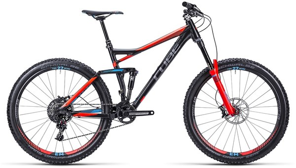 Cube Stereo 160 HPA SL 27.5 Mountain Bike 2015 - Full Suspension MTB
