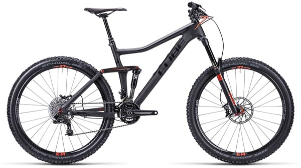 Cube Stereo 160 Super HPC Race 27.5 Mountain Bike 2015 - Full Suspension MTB