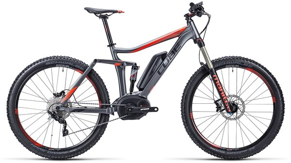 Cube Stereo Hybrid 140 HPA Pro 27.5 2015 - Electric Bike