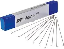 DT Swiss Alpine III Silver Spokes