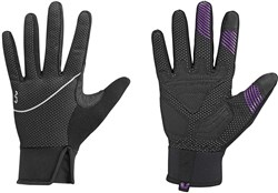 Product image for Liv Womens Hearty Long Finger Cycling Gloves