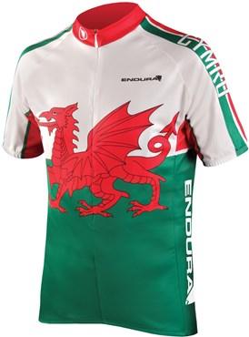 Endura CoolMax Printed Wales II Short Sleeve Cycling Jersey SS17
