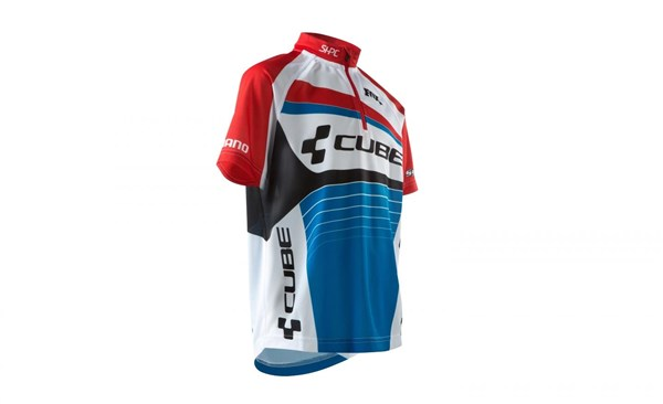 Cube Teamline Junior Short Sleeve Cycling Jersey