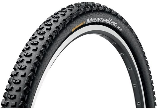 Continental Mountain King II PureGrip 27.5 inch MTB Folding Tyre | Dæk