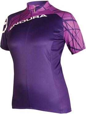 Endura SingleTrack Womens Short Sleeve Cycling Jersey  SS16
