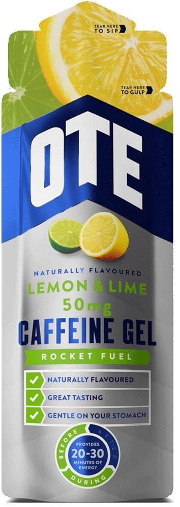 OTE Caffeine 50mg Energy Gels - 56g Box 20 | Energy gels