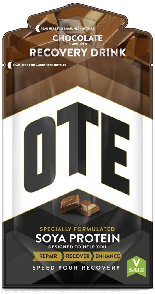 OTE Soya Protein Recovery Drink Mix - 52g Box of 14 | Energy drinks