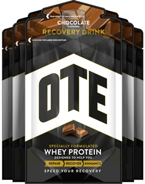 OTE Whey and Casein Protein Recovery Drink Mix - 52g Box 14