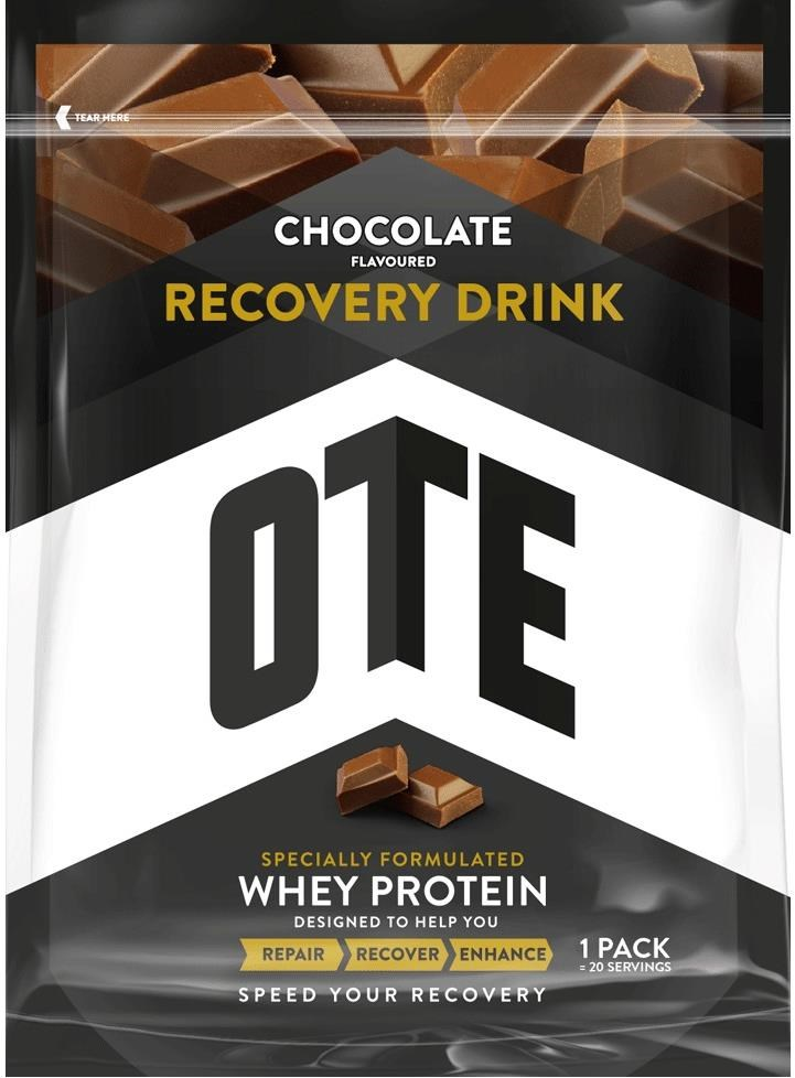 OTE Whey and Casein Protein Recovery Drink Mix - 1kg Pack | Energidrik og pulver