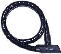 Squire Mako Armoured Cable Lock - Sold Secure Silver