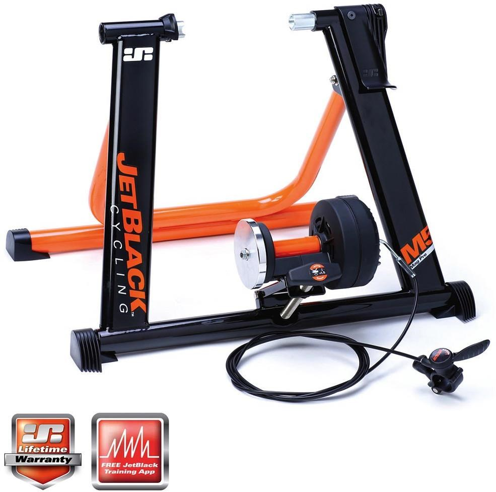 JetBlack M5 Mag Pro Magnetic Trainer with SQR Fit System + APP   Hometrainers