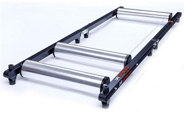 JetBlack Aluminium Rollers with Lite APP   Hometrainer