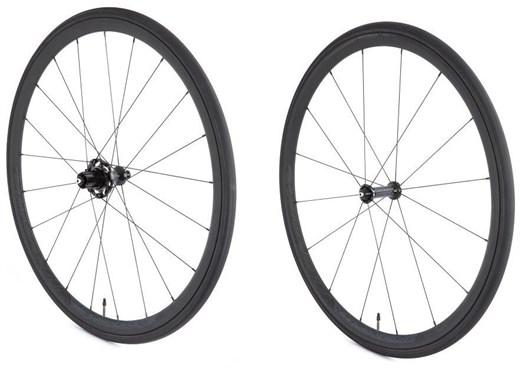 Vittoria Elusion Nero Ceramic SRAM/Shimano Alloy Clincher No Tool Freewheel Quick Release Wheelset