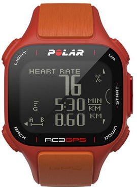 Polar RC3 GPS Heart Rate Monitor Computer Watch