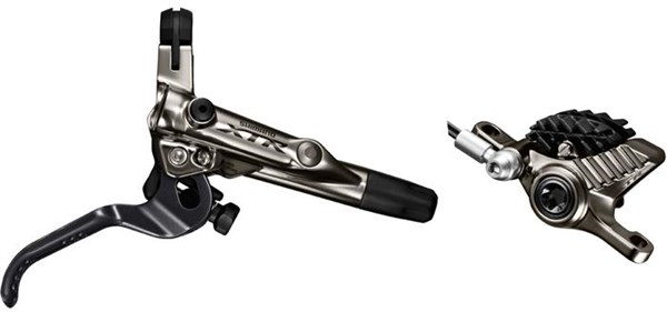 Shimano XTR Bled I-spec-II Ready Brake Lever / Post mount Calliper BRM9020