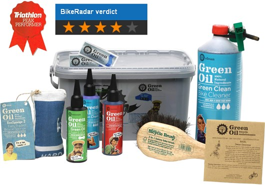 Green Oil Eco Rider Deluxe Cleaning Set