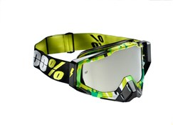 100% Racecraft Anti-Fog Mirror Lens MTB Goggles
