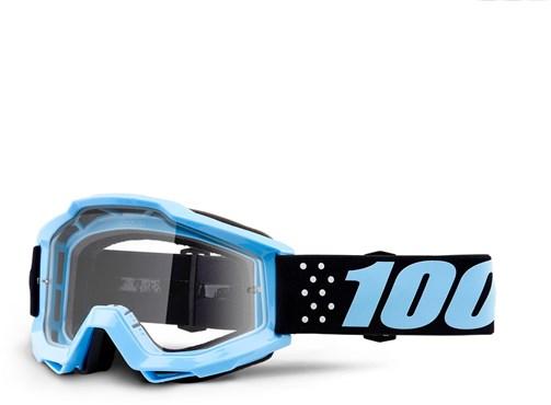 2ade67258ed 100% Accuri Anti-Fog Clear Lens MTB Goggles