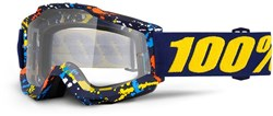 100% Accuri Anti-Fog Clear Lens MTB Goggles