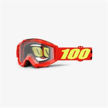 100% Accuri Youth Anti-Fog Clear Lens MTB Goggles