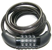 Product image for Master Lock Digit Resettable Combination Coiled Steel Cable Lock