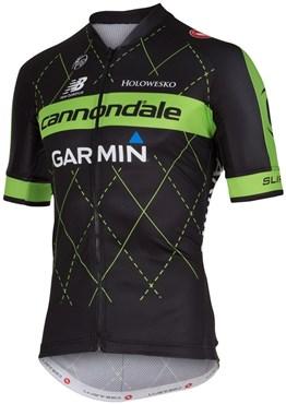 390837d06b4 Castelli Cannondale Garmin Team 2.0 Short Sleeve Cycling Jersey ...