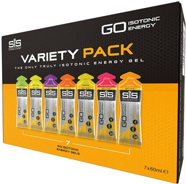 SiS GO Isotonic Gel Variety Pack - 60ml x Box of 7