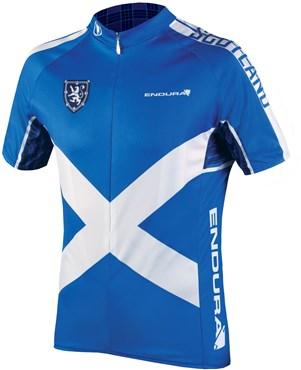 Endura CoolMax Printed Scotland II Short Sleeve Cycling Jersey SS17
