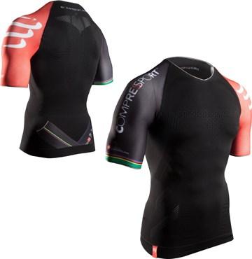 Compressport Pro Racing Triathlon SS Top SS16 | Compression