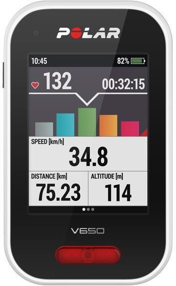 Polar V650 GPS Cycling Computer   Cycle computers
