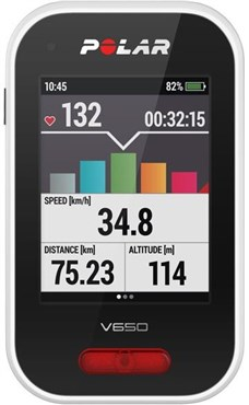 Polar V650 GPS Heart Rate Cycling Computer