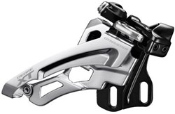 Product image for Shimano Deore XT M8000 Triple Front Derailleur Side Swing Front Pull