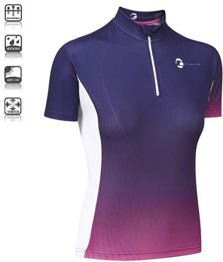 Tenn By Design Short Sleeve Womens Cycling Jersey