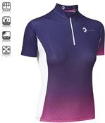 Tenn By Design Short Sleeve Womens Cycling Jersey