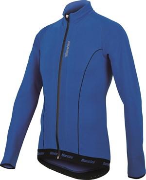 Santini H21 Acquazero Water Resistant Long Sleeve Thermofleece Jersey 18d2e8ee4